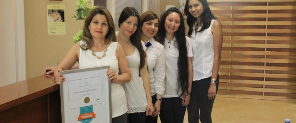 Shahla Tavakolnia voted Best Physiotherapist in North York
