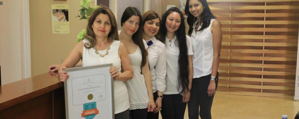 Shahla Tavakolnia voted Best Physiotherapist in North York